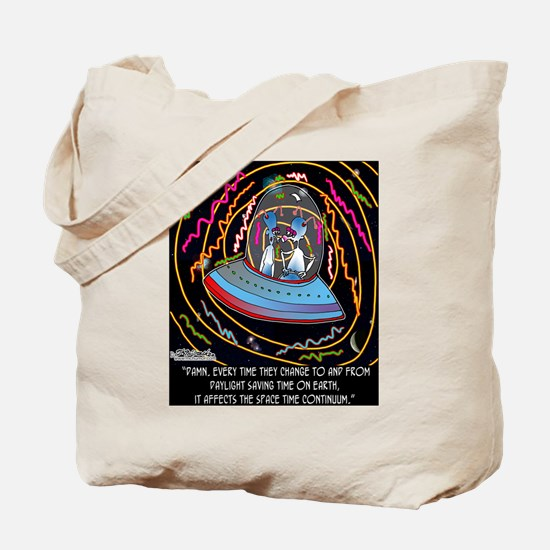 DST & the Space Time Continuum Tote Bag