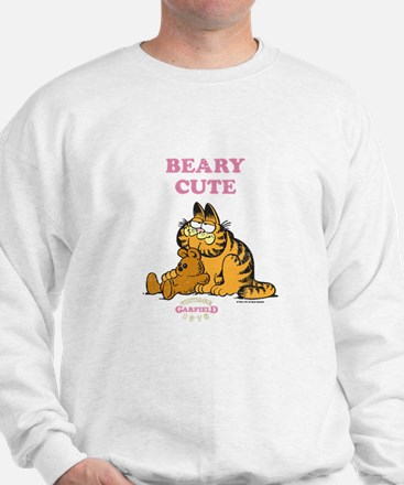 Beary Cute Garfield and Pooky Sweatshirt