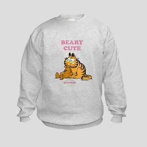 Beary Cute Garfield and Pooky Kids Sweatshirt
