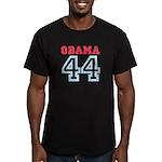 OBAMA 44 Men's Fitted T-Shirt (dark)