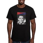 Obama RFK '68-Style Men's Fitted T-Shirt (dark)