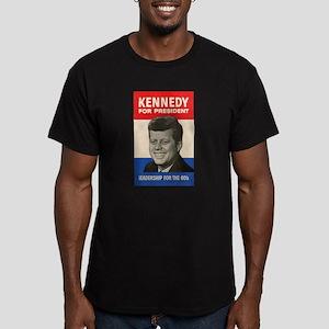 JFK '60 Men's Fitted T-Shirt (dark)