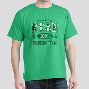 Ryan Irish Drinking Team Dark T-Shirt