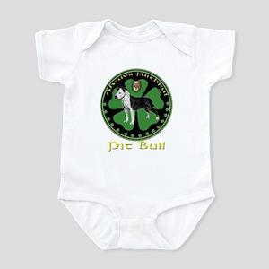 Always faithful Pit Bull Infant Bodysuit