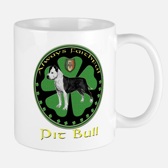 Always faithful Pit Bull Mug