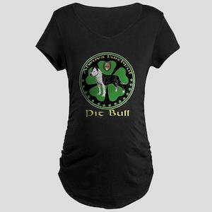 Always faithful Pit Bull Maternity Dark T-Shirt