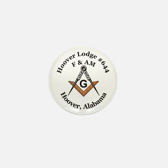 Hoover Lodge #644 Mini Button (10 pack)