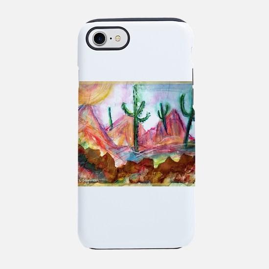 Desert! Southwest art! iPhone 7 Tough Case