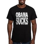 Obama Sucks Men's Fitted T-Shirt (dark)