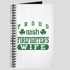 Proud Irish Firefighter's Wife Journal