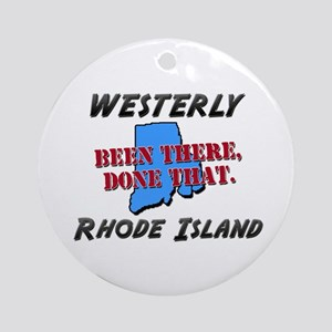 westerly rhode island - been there, done that Orna