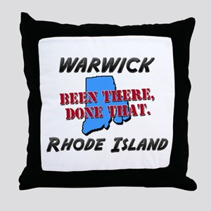 warwick rhode island - been there, done that Throw