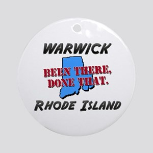 warwick rhode island - been there, done that Ornam