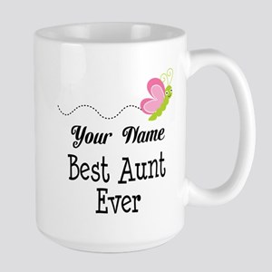 Personalized Best Aunt Mugs