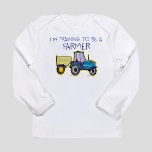 training to be a farmer Long Sleeve T-Shirt