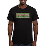Bleeding Heart Men's Fitted T-Shirt (dark)