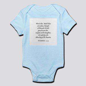NUMBERS  21:29 Infant Creeper