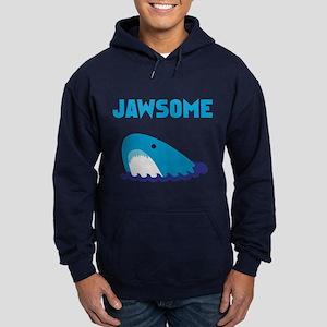 Jawsome Shark Hoodie (dark)