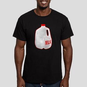 Milk Jug Men's Fitted T-Shirt (dark)