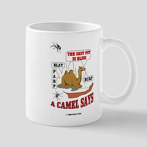 A Camel Says Mug