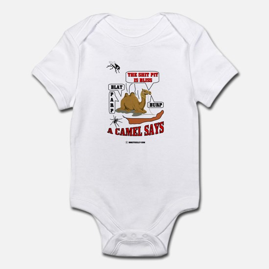 A Camel Says Infant Bodysuit