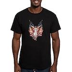 Vintage American Flag Art Men's Fitted T-Shirt (da