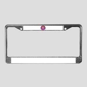 Reiki Woman License Plate Frame