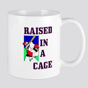 RAISED IN A CAGE Mug