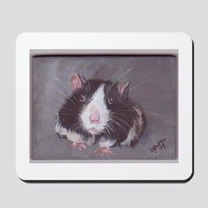 Black and White Mouse Mousepad