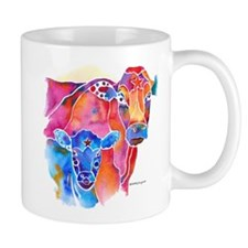 Cow and Calf Vivid Colors 11 oz Ceramic Mug