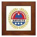 American Veterans Framed Tile