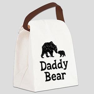 Daddy Bear Canvas Lunch Bag