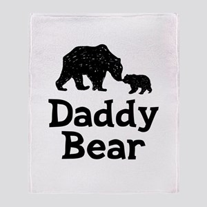Daddy Bear Throw Blanket