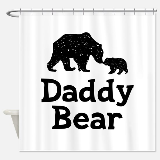 Daddy Bear Shower Curtain