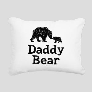 Daddy Bear Rectangular Canvas Pillow