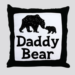 Daddy Bear Throw Pillow