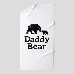 Daddy Bear Beach Towel