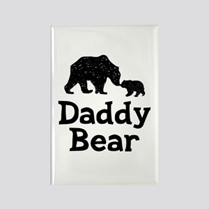 Daddy Bear Rectangle Magnet