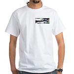 White T-Shirt - Rhinos (2 Images)