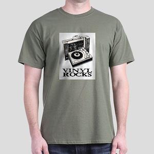 VINYL ROCKS II Dark T-Shirt