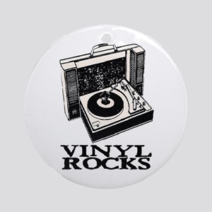 VINYL ROCKS II Ornament (Round)