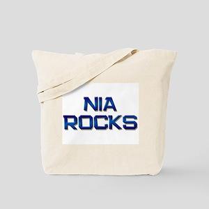 nia rocks Tote Bag