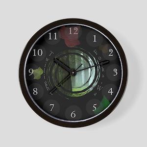 Twilight Forks Wall Clock