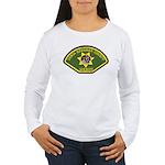 Santa Barbara Sheriff Women's Long Sleeve T-Shirt
