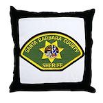 Santa Barbara Sheriff Throw Pillow