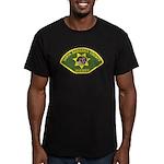 Santa Barbara Sheriff Men's Fitted T-Shirt (dark)