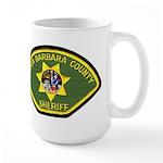 Santa Barbara Sheriff Large Mug