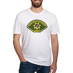 Santa Barbara Sheriff Fitted T-Shirt