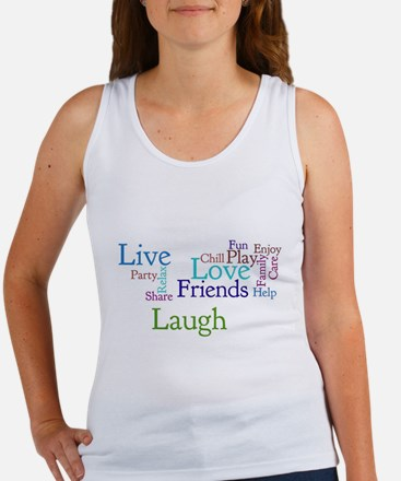 Live, Love, Laugh Women's Tank Top