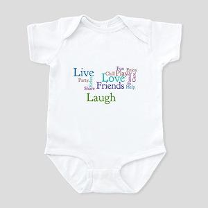 Live, Love, Laugh Infant Bodysuit